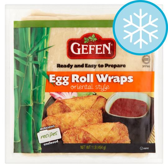 Gefen Egg Roll Wraps Oriental Style 454g Tesco Groceries