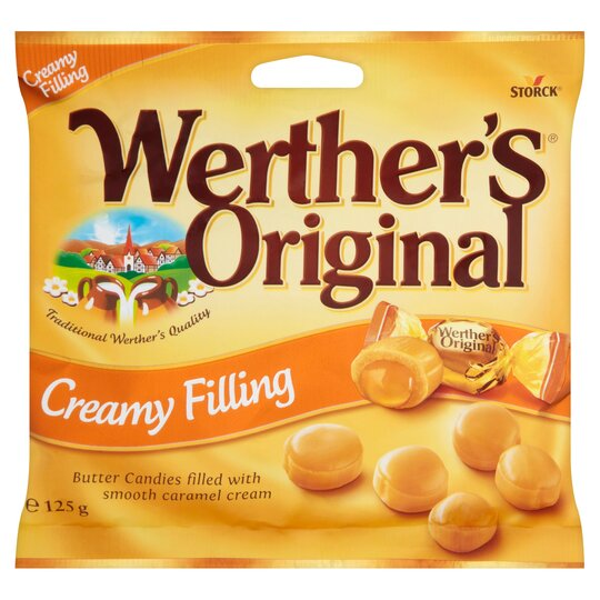 Werthers Original Creamy Filling 125G