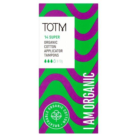 Totm Applicator Tampons Super 14S