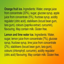 image 2 of Walls Calippo Max Orange Lemon & Lime 6X80ml