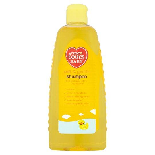 Tesco Loves Baby & Toddler Soft Shampoo 500Ml
