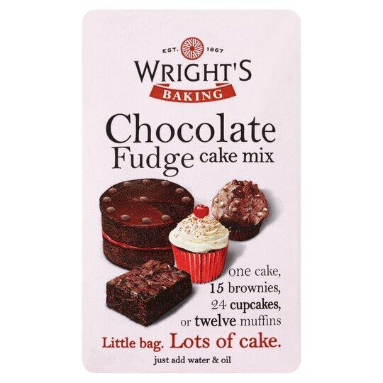 Wright's Baking Chocolate Fudge Cake Mix 500G