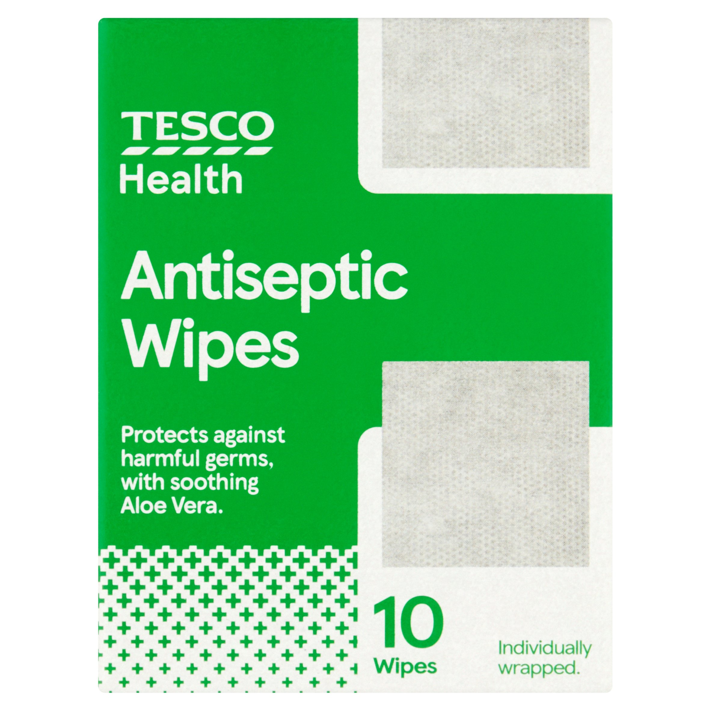 Tesco Antiseptic Wipes 10S