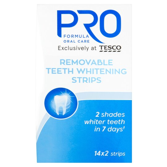 Pro Formula Teeth Whitening Strips 14 X 2