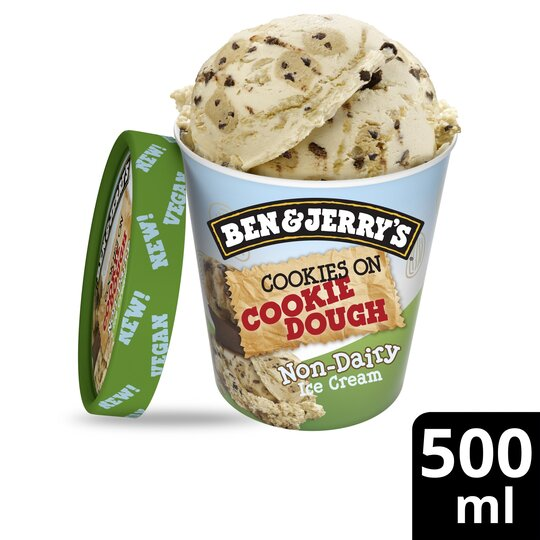 image 1 of Ben&Jerry Dairy Free Cookie On Cookie Dough 500Ml