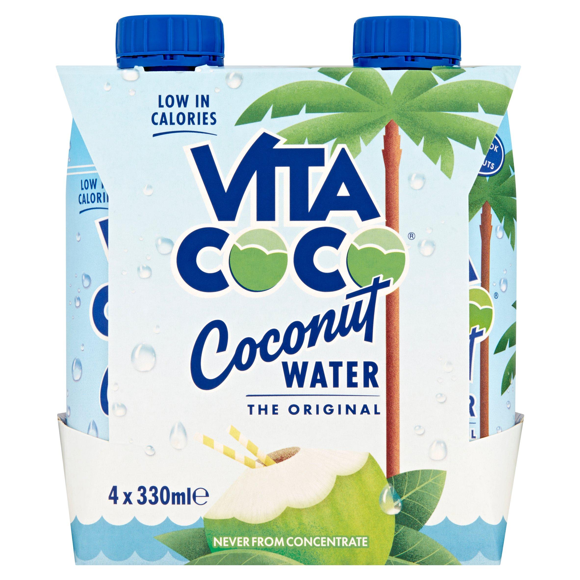 Vita Coco 100% Natural Coconut Water 4 X 330Ml