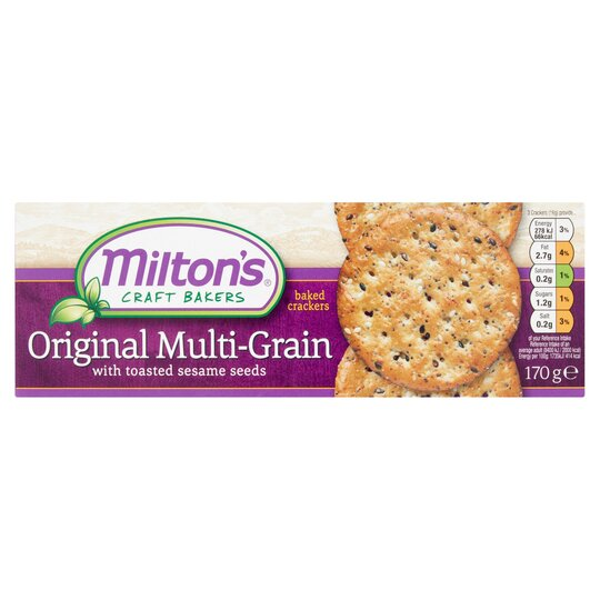 Milton's Multigrain Crackers 170G