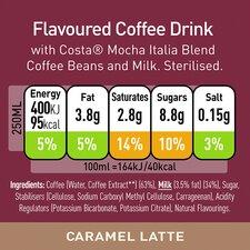 image 2 of Costa Coffee Caramel Latte 250Ml