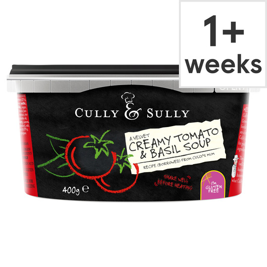 image 1 of Cully&Sully Tomato&Basil Soup 400G