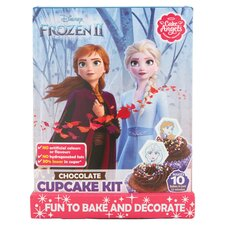 image 2 of Cake Angel Disney Frozen 2 Chocolate Cupcakes Kit 176G