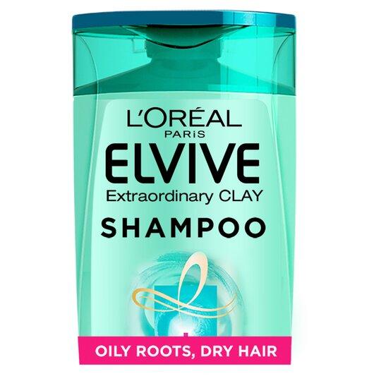 L'oreal Elvive Clay Oily Roots Shampoo 300Ml