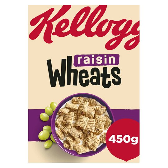 Kellog's Raisin Wheats 450G