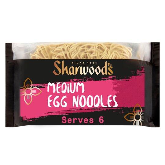 Sharwoods Medium Egg Noodles 340G