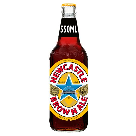 Newcastle Brown Ale Bottle 550Ml