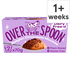image 1 of Over The Spoon Belgian Double Chocolate Mousse 2X70g