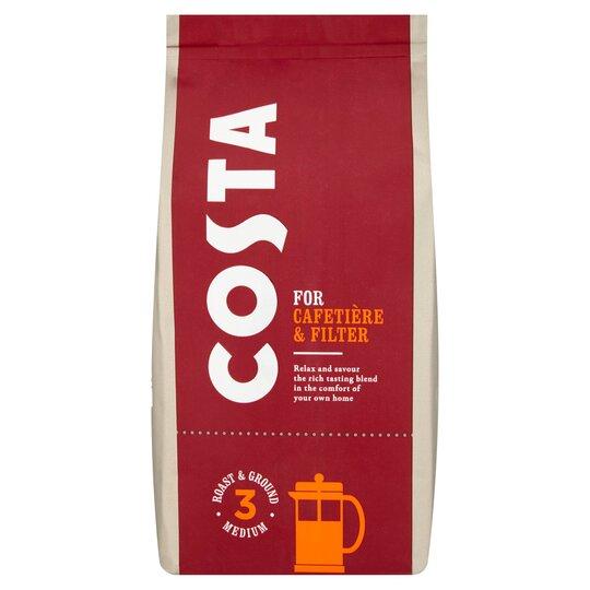 Costa Roast Ground Coffee 200g