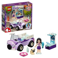 image 1 of LEGO Friends Emma's Mobile Vet Clinic Doll Playset 41360