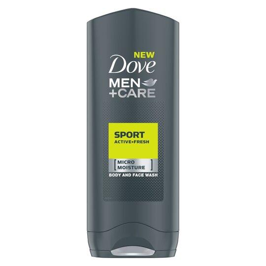 image 1 of Dove Men+Care Sport Active Fresh Body Wash 250Ml