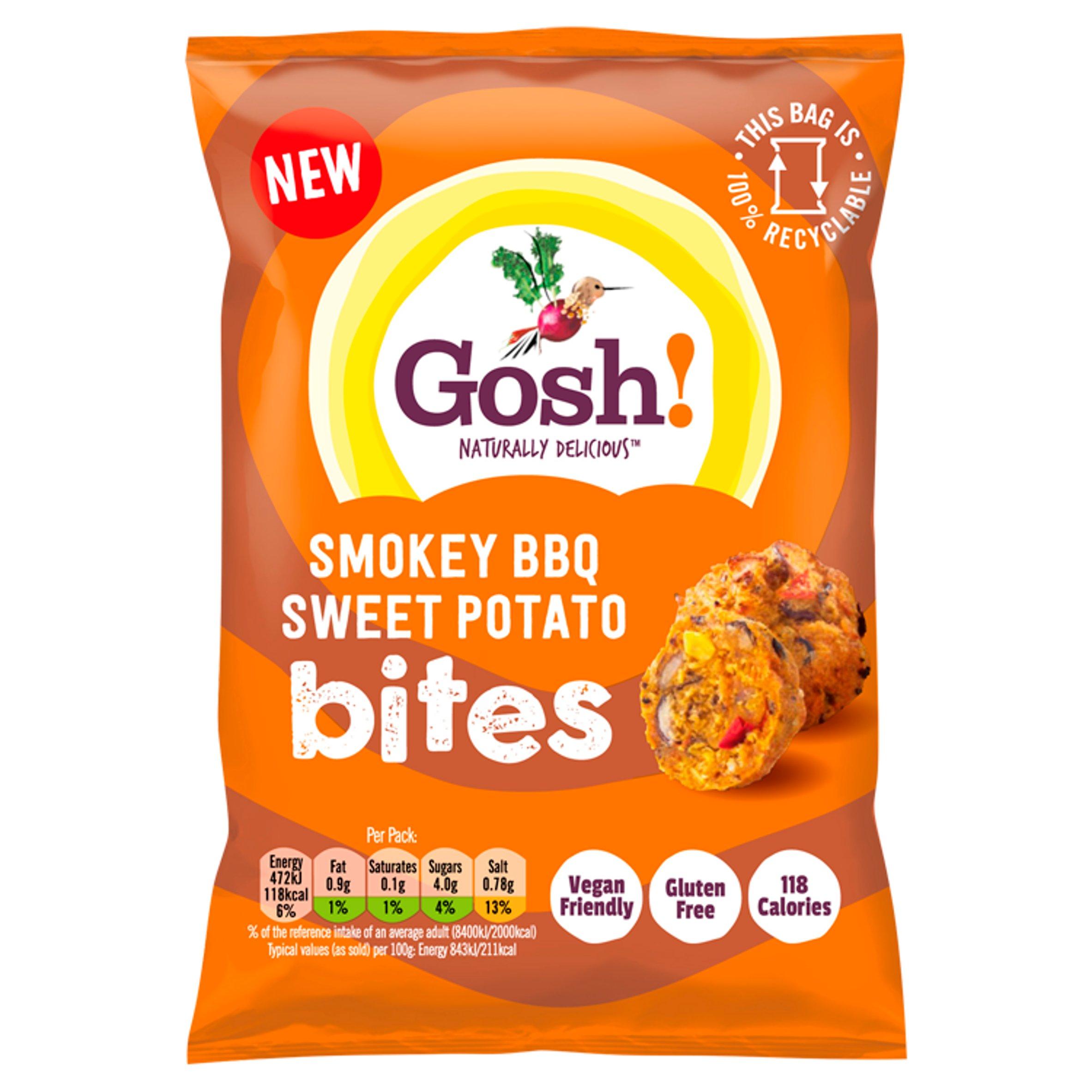Gosh Smokey Bbq & Sweet Potato Bites 56G
