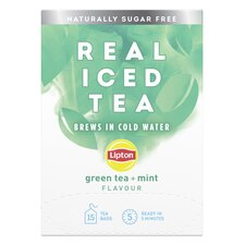image 1 of Lipton Cold Brew Green Tea Mint 15'S 27G