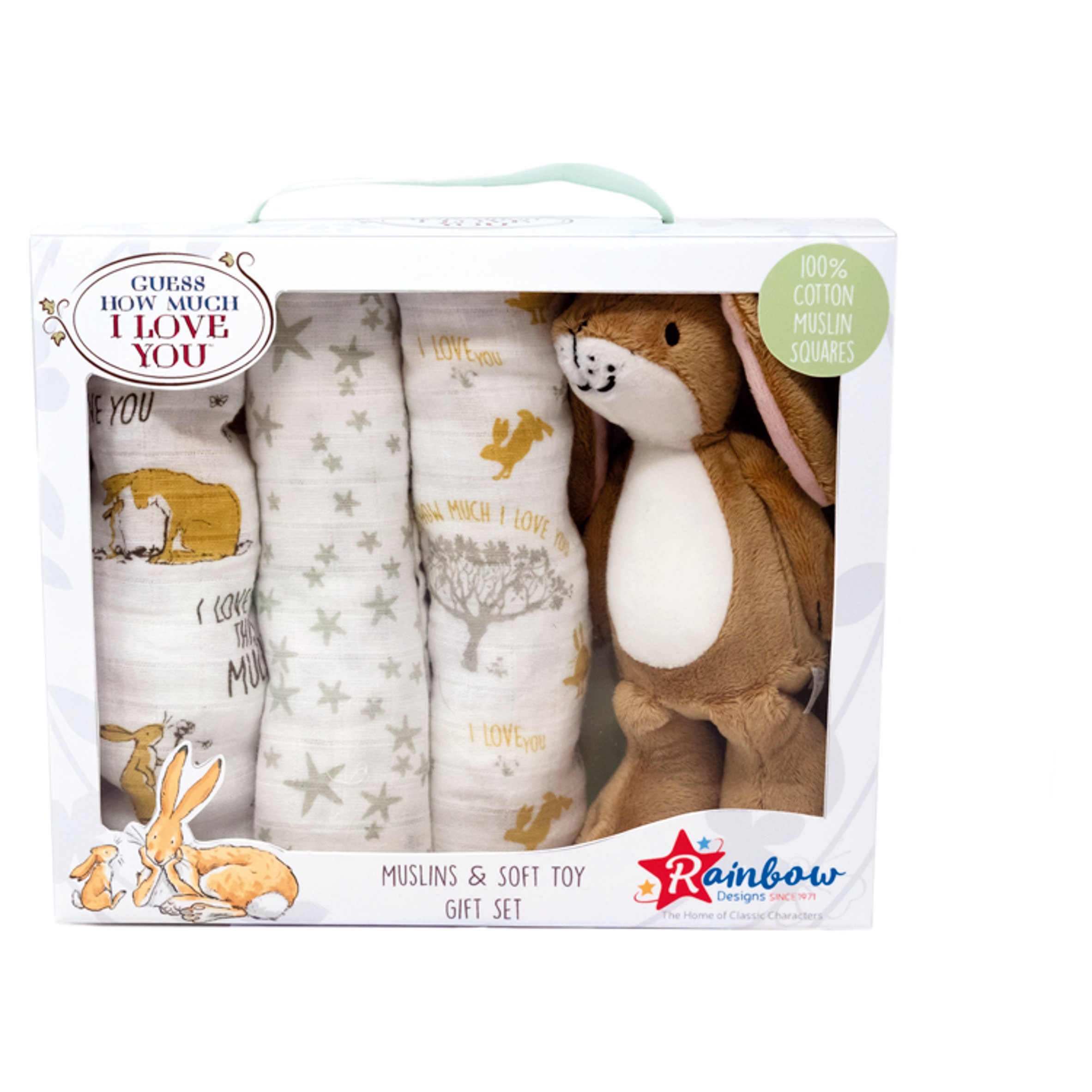 Guess How Much I Love You Muslin Gift Set