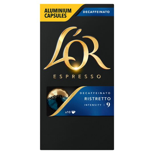 image 1 of L'or. Capsule Ristretto Decaffeinated Coffee 52G