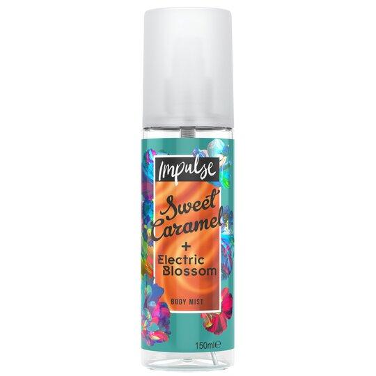 Impulse Sweet Caramel & Electric Blossom 150Ml