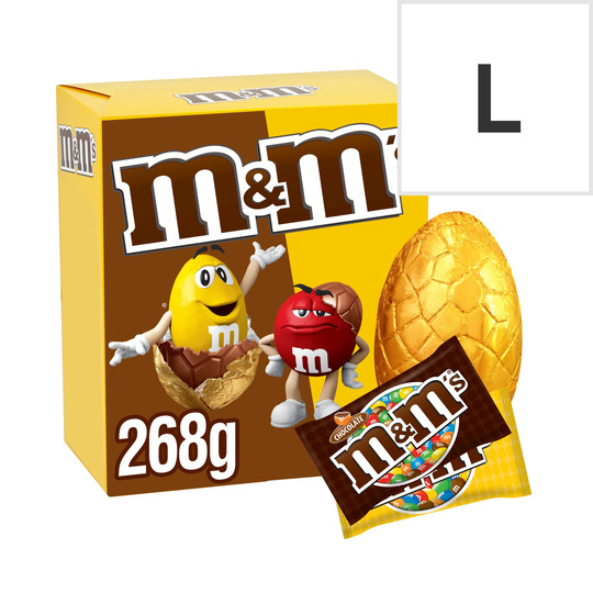 M&M Large Easter Egg 268G