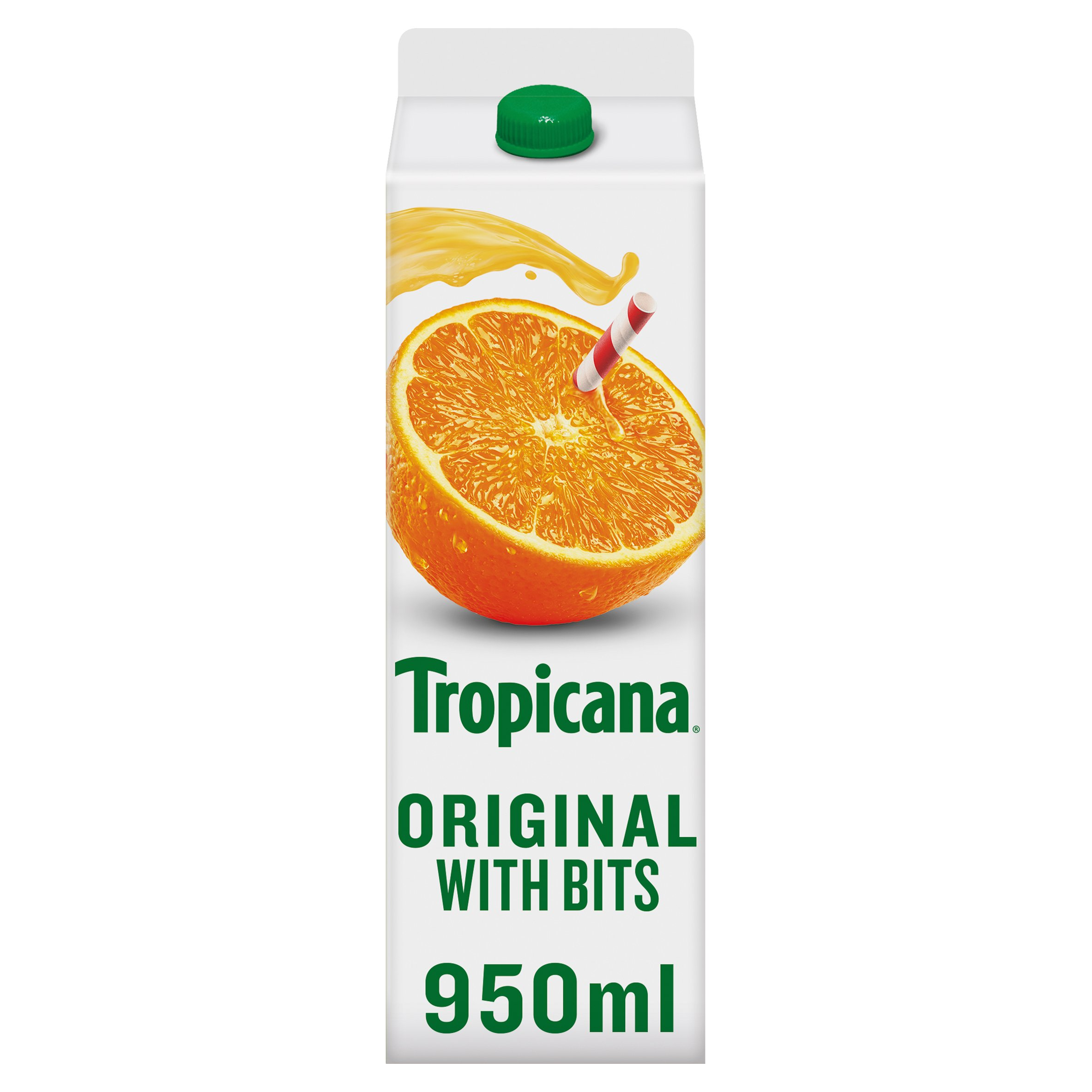 Tropicana Orange Juice 950Ml
