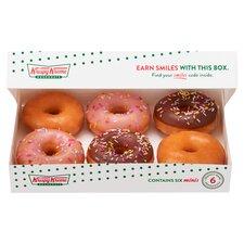 image 2 of Krispy Kreme 6 Mini Doughnuts