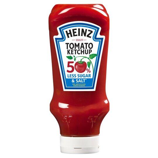 Heinz Tomato Ketchup 50% Less Salt & Sugar 880G