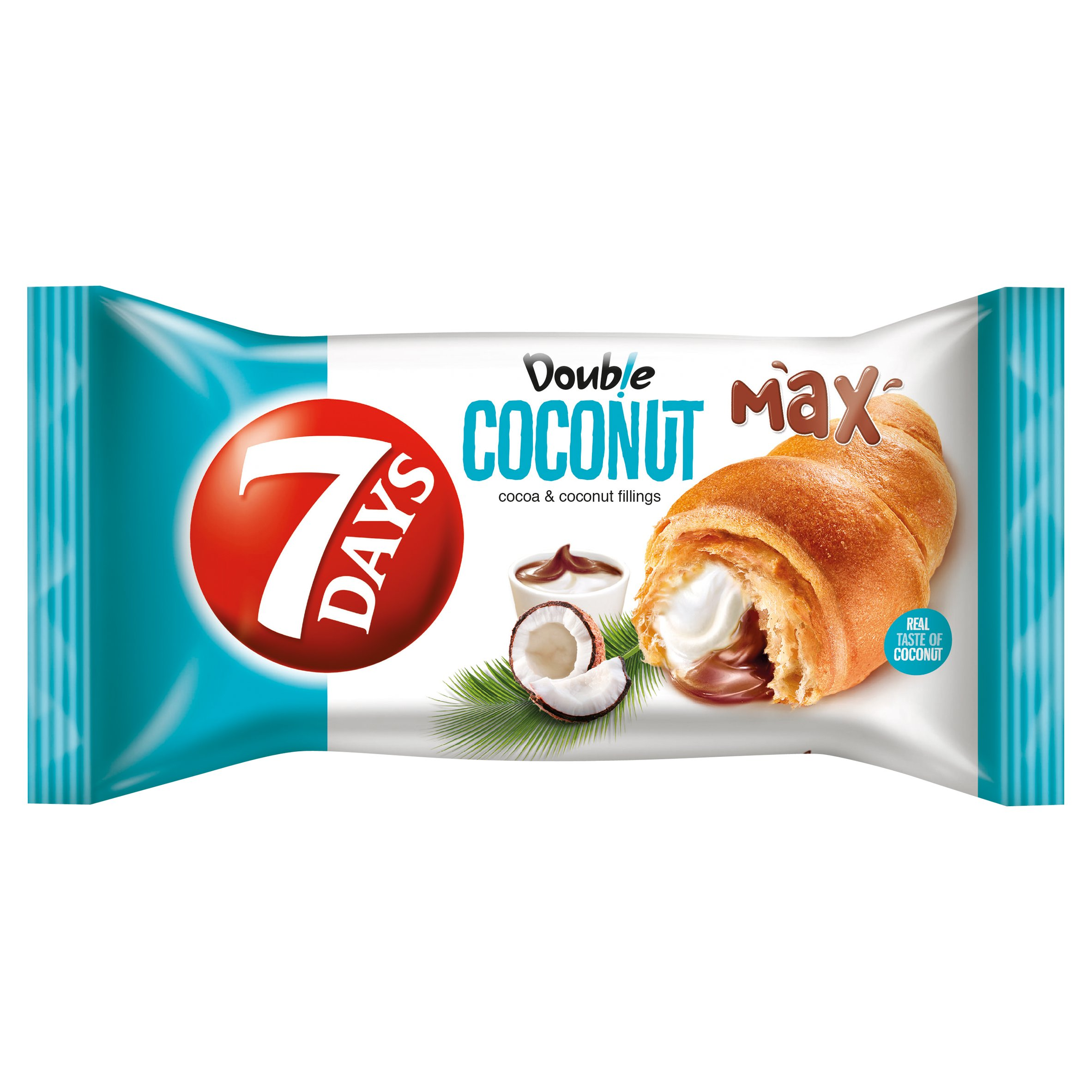 7 Days Double Coconut With Cocoa & Coconut Cream 80G