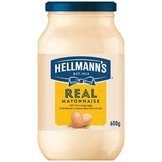 image 1 of Hellmann's Real Mayonnaise 600G Jar