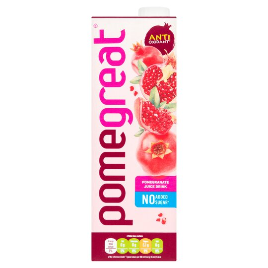 Pomegreat Pomegranate Juice Drink 1 Litre Tesco Groceries
