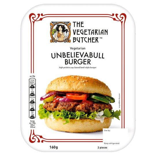 Vegetarian Butcher Mc2 Burger 160G