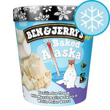 image 1 of Ben & Jerry's Baked Alaska Vanilla Ice Cream 465Ml
