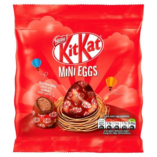 Kit Kat Milk Chocolate Mini Eggs 81G