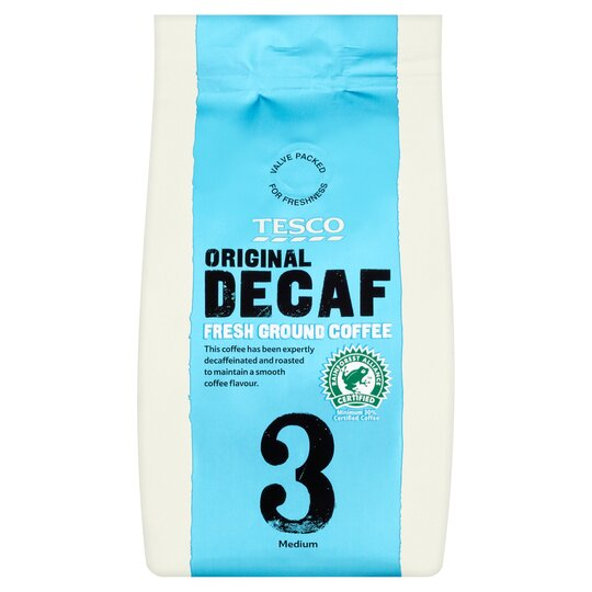 Tesco Original Decaffeinated Ground Coffee 227g