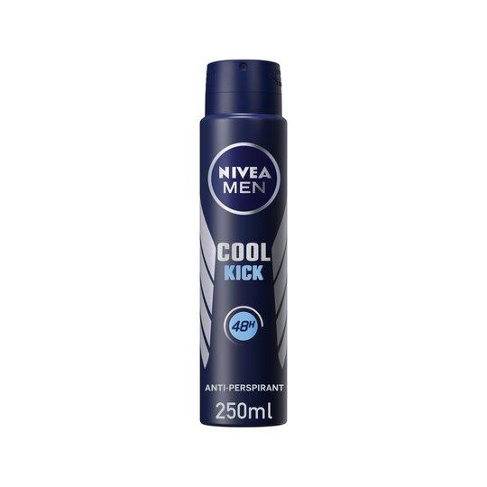 Nivea For Men Cool Kick Antiperspirant Deodorant 250Ml