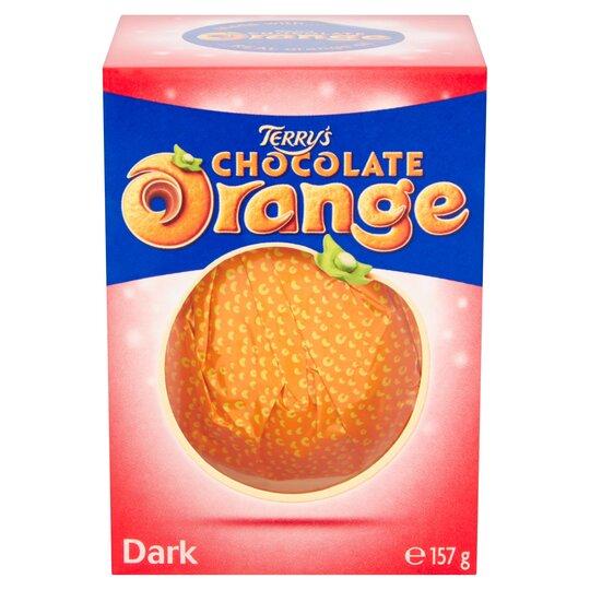 image 1 of Terry's Dark Chocolate Orange Ball 157G