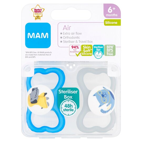 Mam 6+ Months Air Soothers X2