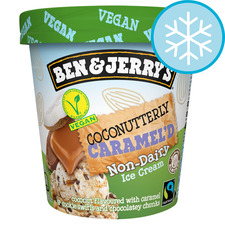 image 1 of Ben & Jerry's Non Dairy Coconut & Caramel Ice Cream 465Ml