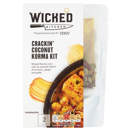 Wicked Kitchen Crackin' Coconut Korma Kit 273G