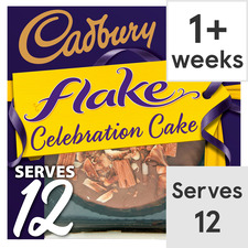 image 1 of Cadbury Flake Cake Each