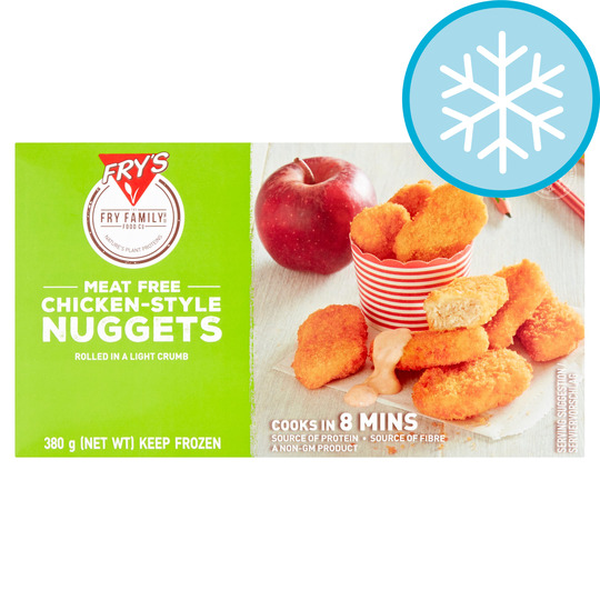 Frys Meat Free Chicken Style Nuggets 380G