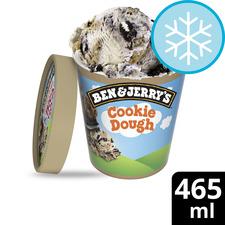 image 1 of Ben & Jerry's Cookie Dough Sandwich Up Vanilla Ice Cream 465Ml