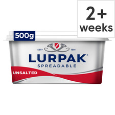 image 1 of Lurpak Unsalted Spreadable 500G