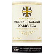 image 2 of Tesco Montepulciano D'abruzzo 75Cl
