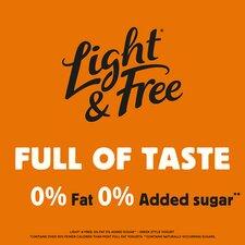image 3 of Light & Free Greek Style Yogurt Sticky Toffee 4X115g