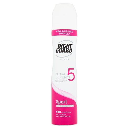 Right Guard Women Sport Antiperspirant Deodorant 250Ml
